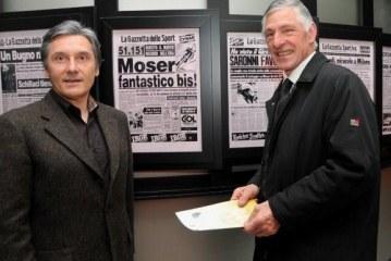 Una giornata al Museo: Moser e Saronni