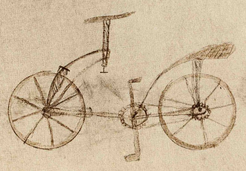 LEONARDO DA VINCI, THE GENIUS, AT THE CYCLING MUSEUM