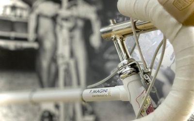 MAGNI's  CENTENARY WITH A FUCHS BICYCLE