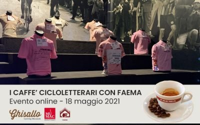 """START OF THE MEETINGS TITLE """"THE CYCLING COFFEE WITH FAEMA"""""""