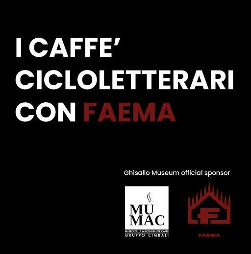 caffe cicloletterari con faema